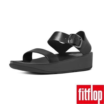 FitFlop BON LEATHER BACK-STRAP-黑
