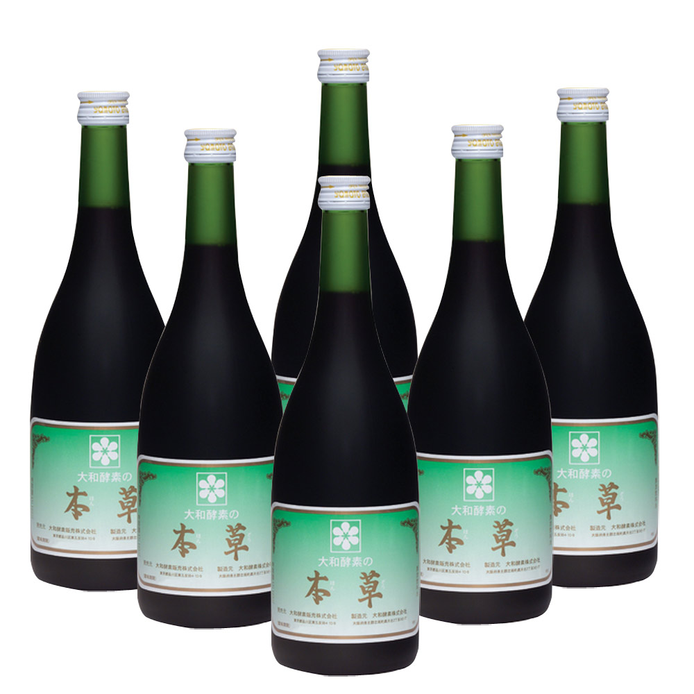 Yamoto大和酵素 本草酵素原液6瓶組 720ml*6 (全素可食)