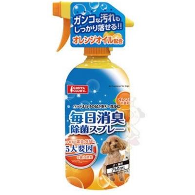 日本Marukan 狗貓 絕對消臭清香殺菌噴劑 柑橘味 750ml【DP-245】
