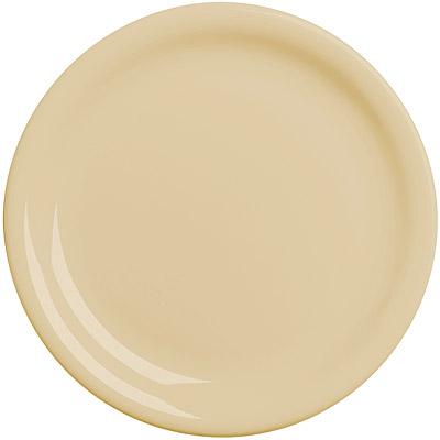 EXCELSA Fashion陶製淺餐盤(奶油黃19.5cm)