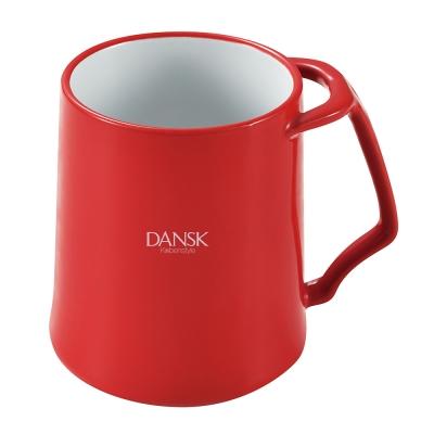 DANSK 陶瓷材質馬克杯-(紅色)