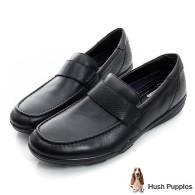 Hush Puppies 都會雅痞防水正裝鞋-黑色