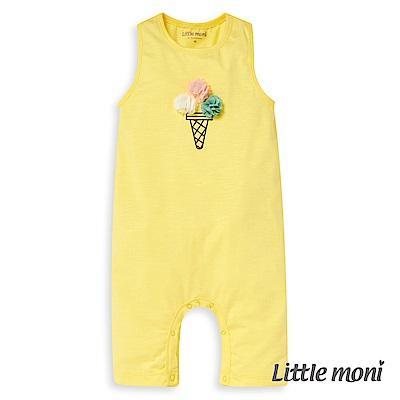 Little moni 立體冰淇淋連身褲 (2色可選)