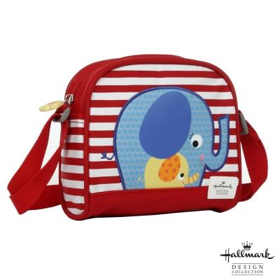Hallmark Kids親子小象系列側背包-紅HL00F02RD