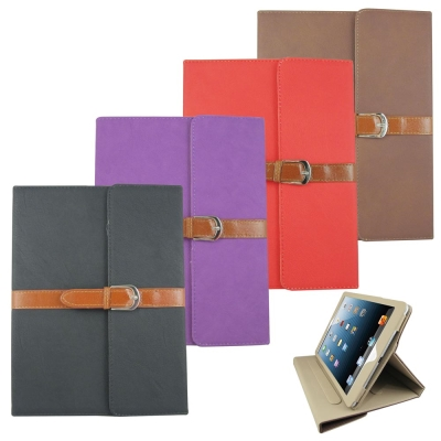 L72皮帶扣環iPad Air(iPad5)平板皮套螢幕保護貼組