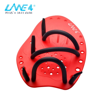 LANE4羚活 AHPA游泳訓練掌拍 紅色S號