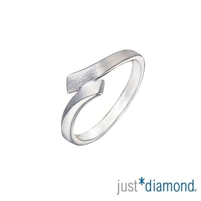 Just Diamond熱戀探戈 男女對戒-寬版(男戒)