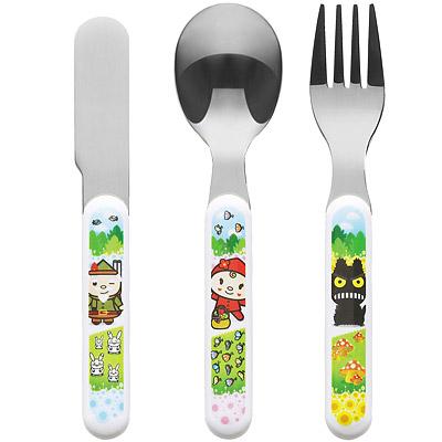EXCELSA 兒童餐具3件(童話)