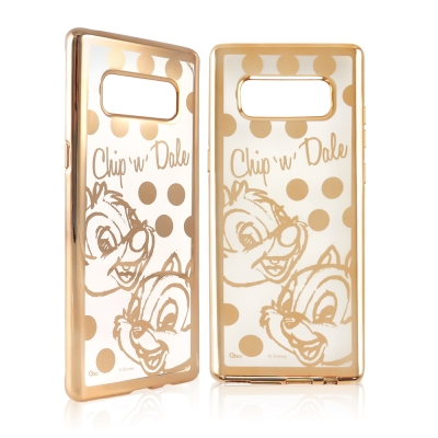 Disney迪士尼 三星Galaxy Note8時尚質感電鍍保護套-點點系列 奇...