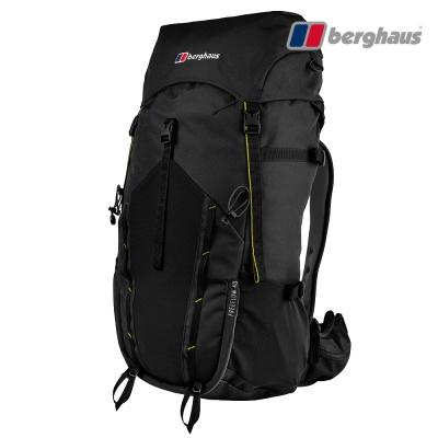 【Berghaus貝豪斯】男款FREEFLOW登山背包40LT27M23黑
