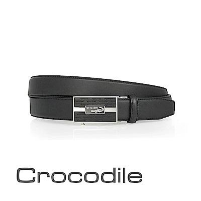 Crocodile 紳士自動穿扣皮帶 0101-42006-01