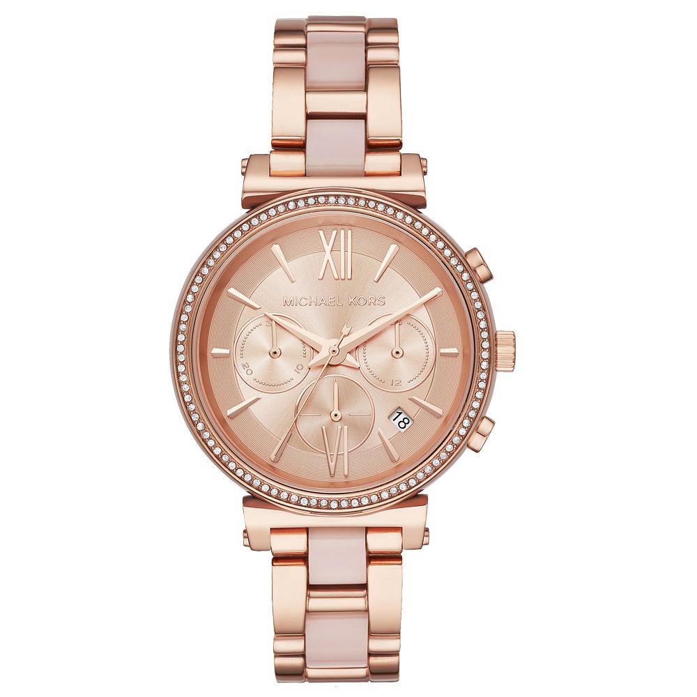 Michael Kors  邂逅日內瓦晶鑽時尚腕錶-MK6560-38mm