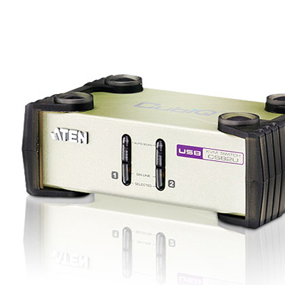 ATEN  2 埠USB+PS/ 2 多電腦切換器CS 82 U