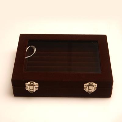 梨花HaNA-長形珠寶戒指單層雙扣收納盒