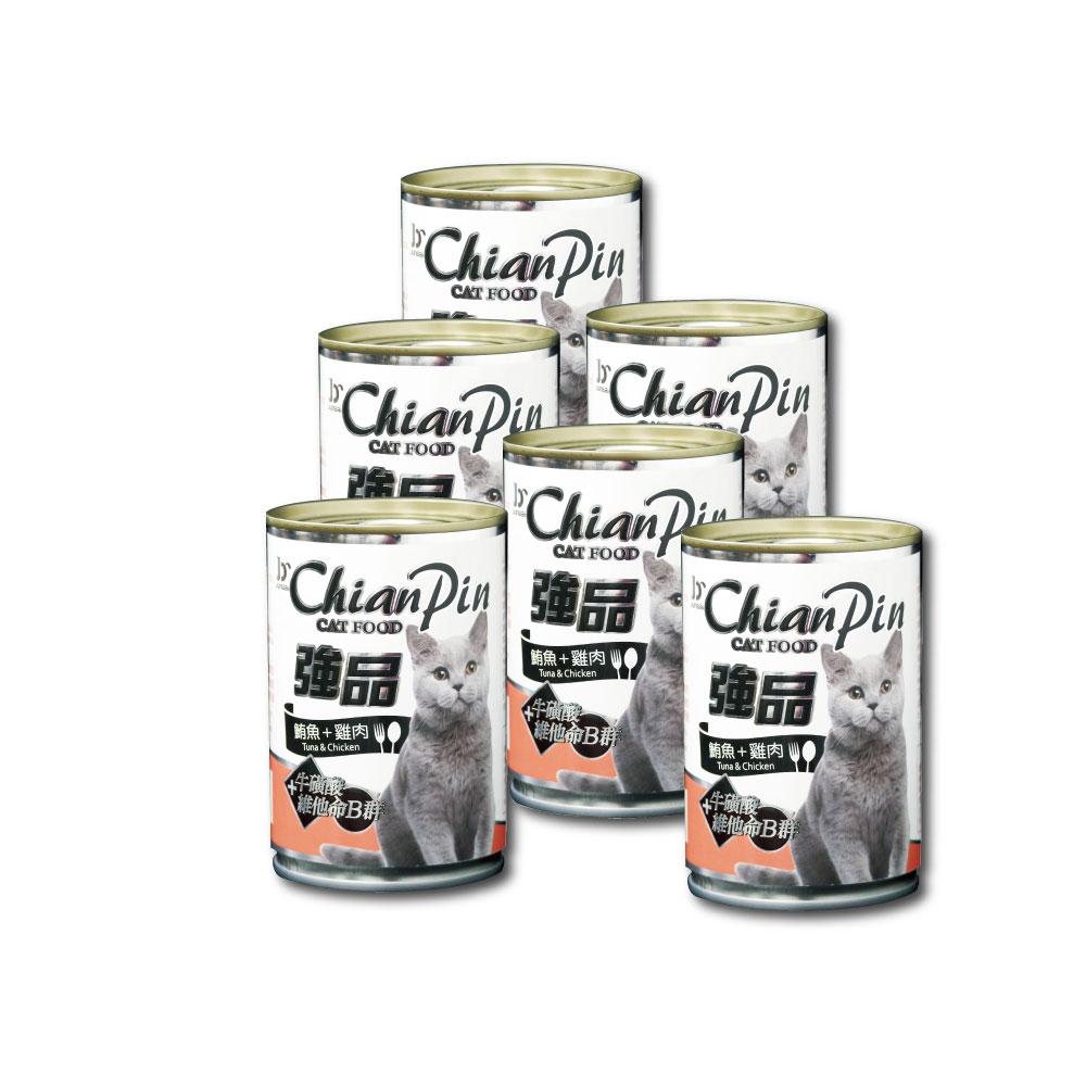 寵物物語-強品貓罐-鮪魚+雞肉400G-24罐