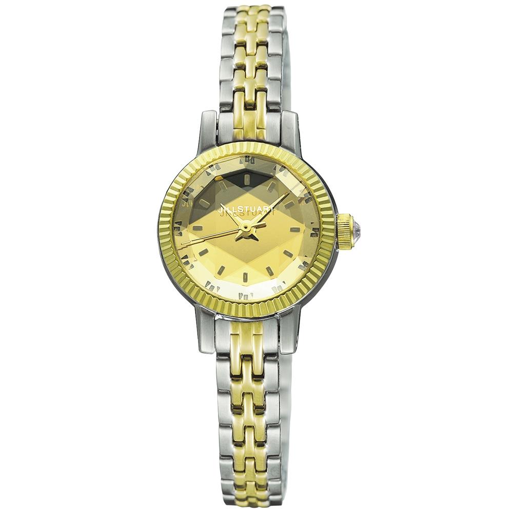 JILL STUART Gem Special系列典雅時尚腕錶-金x雙色版/20mm