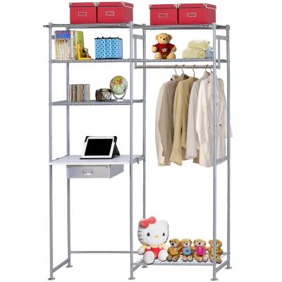 巴塞隆納-WP3型60公分+E60公分電腦桌衣櫥架(無防塵)