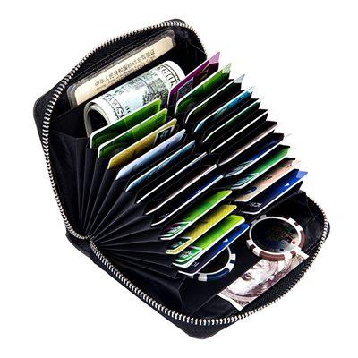 玩皮工坊-二層牛皮24卡位可放護照證件包護照夾卡片夾-CB152