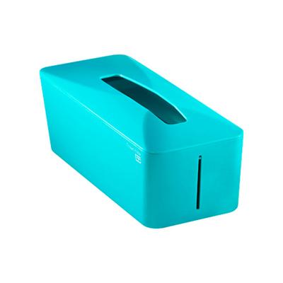 Tissue.Know自動彈升面紙盒(土耳其藍)