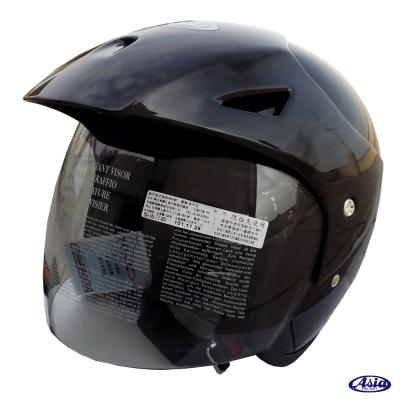 ASIA FreeStyle A705 安全帽 亮光黑