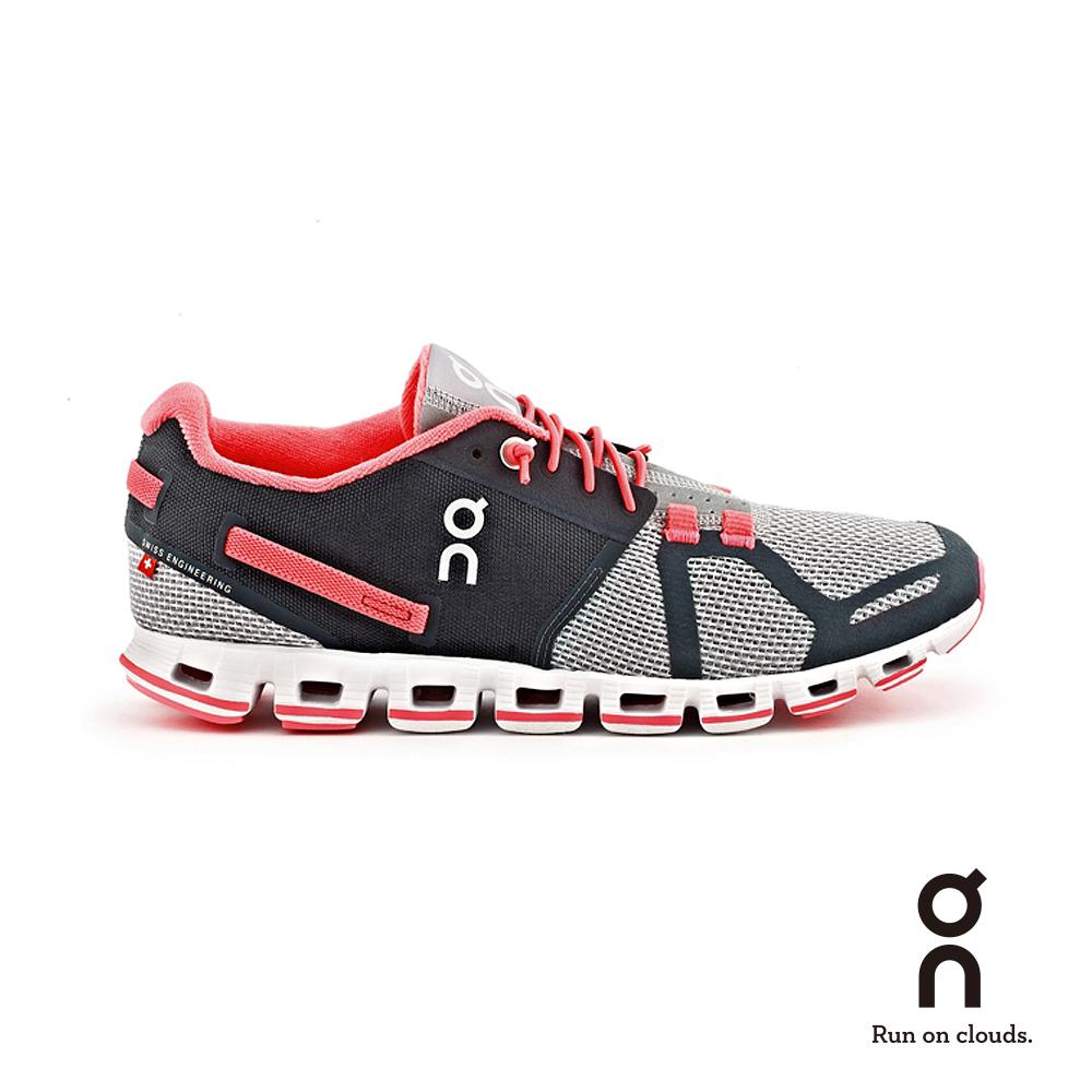ON 瑞士雲端科技跑鞋-輕量雲 女款 黑/粉