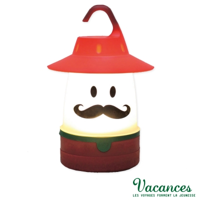 【VACANCES】日系 世界 MR 微笑 LED 露營燈