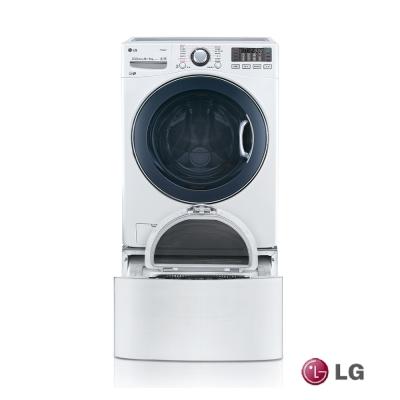 [無卡分期12期]LG 樂金TWINWash 16+2.5公斤雙能(典雅白)WD-S16VBD
