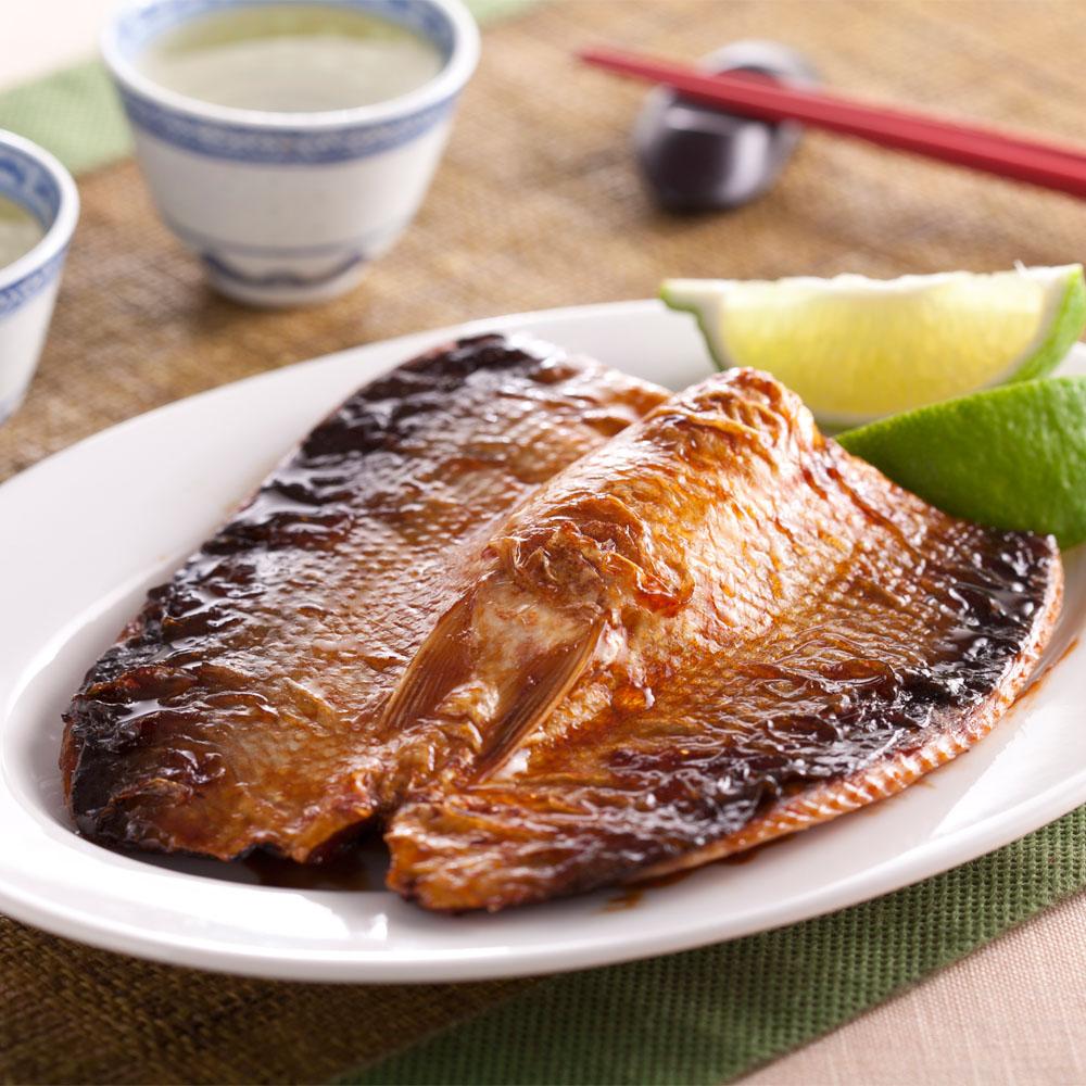 鮮魚屋 日式風味去刺蒲燒虱目魚肚8片(125g/片)