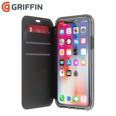 Griffin Survivor Clear Wallet iPhoneX 皮夾...