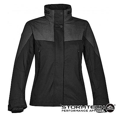 【加拿大STORMTECH】RFX-2W 時尚機能質感防水防風外層外套-女-黑