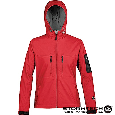 【加拿大STORMTECH】HS-1W獨家輕薄防水透氣刷毛保暖外套-女-紅