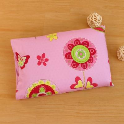 鴻宇HongYew 粉紅花園-兒童標準乳膠枕 美國棉防蹣抗菌