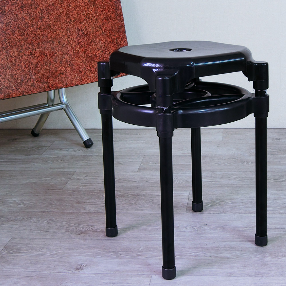 Amos-雙層塑膠椅(6入)-W29*D29*H43CM