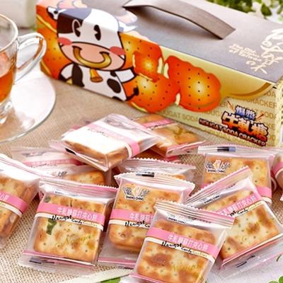 台灣上青 爆漿牛軋糖蘇打夾心餅( 300 g)