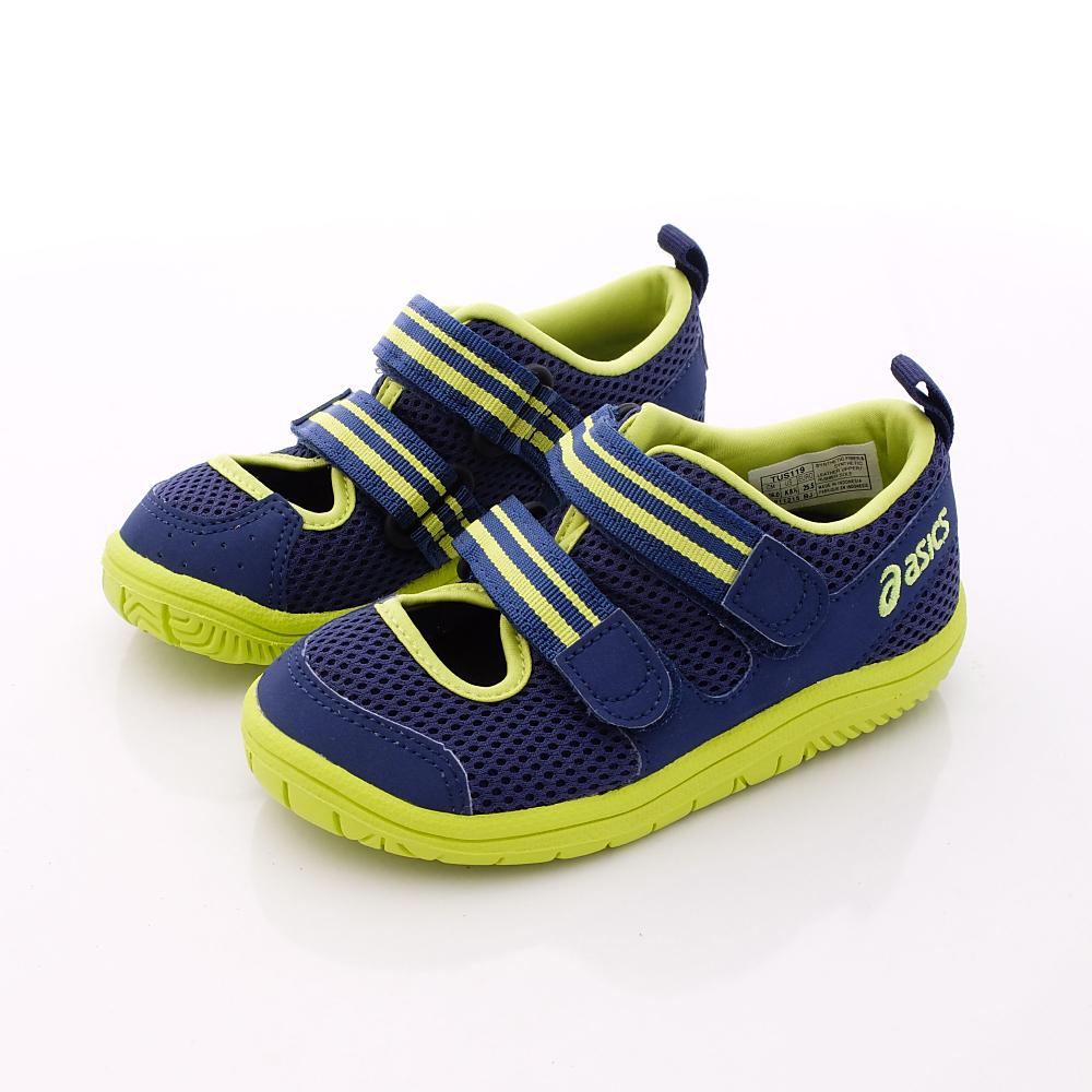 亞瑟士SUKU2機能鞋-透氣穩定款-19-5089藍(小童段)-N0