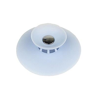 PUSH-廚房用品按壓式水槽過濾網塞排水口水槽防堵