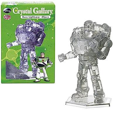 3D Ctystal Galley - 迪士尼水晶拼圖(巴斯光年/灰色)