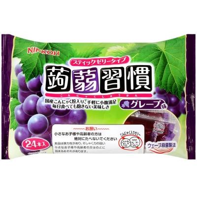日幸製果 蒟蒻習慣果凍-葡萄 (384g)