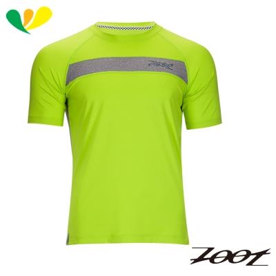 ZOOT 頂級極致型凍感運動上衣(男)(電光黃) Z1704020