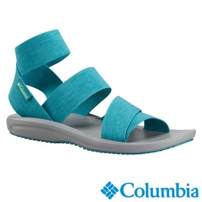 【Columbia哥倫比亞】女-涼鞋-海水綠色 UBL45340SE