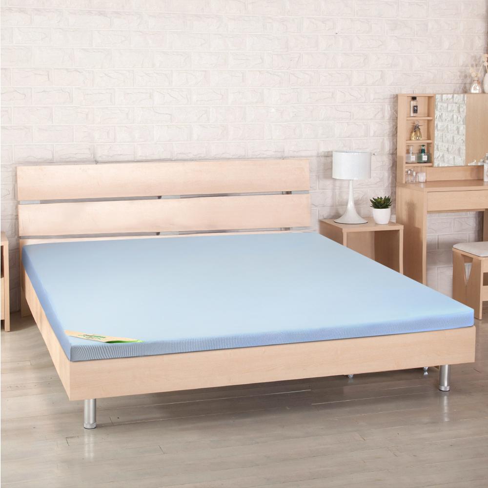 LooCa 高規HT吸濕排汗5cm乳膠床墊-單大3.5尺