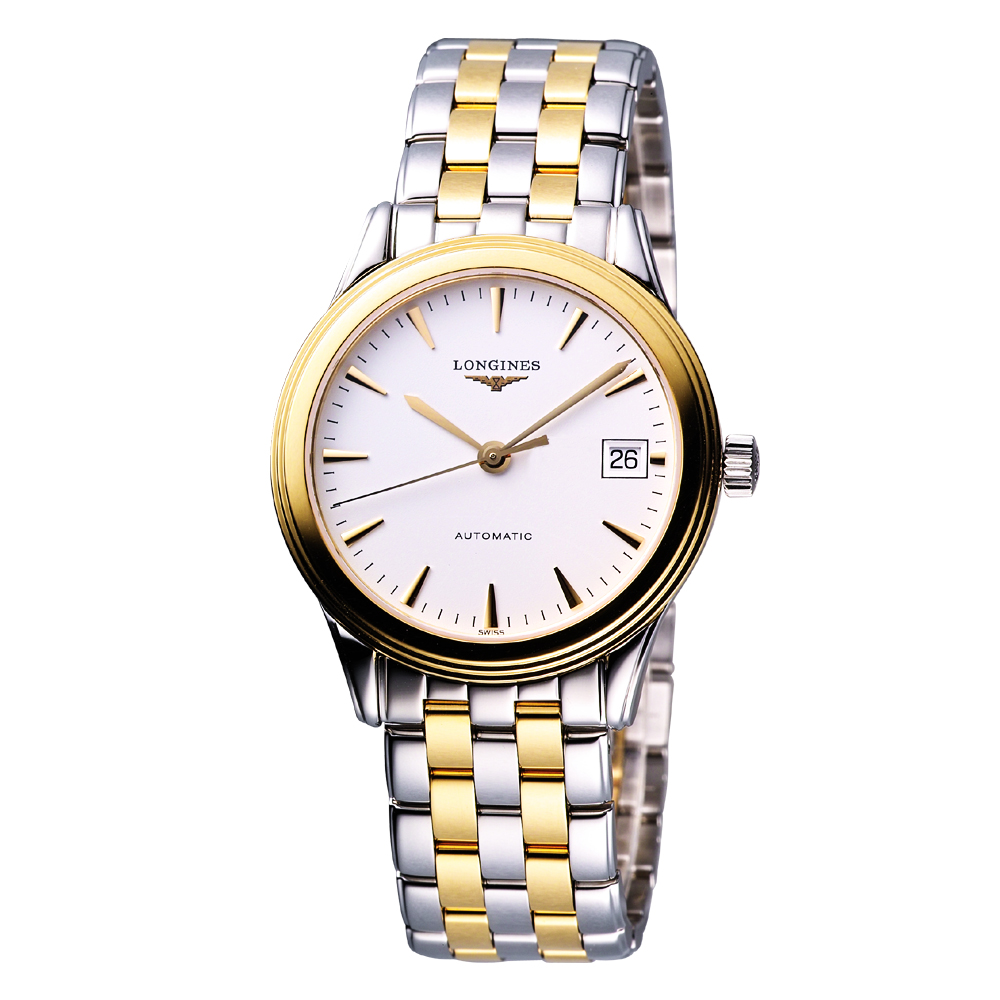 LONGINES Flagship 優雅旗艦機械腕錶-半金/36mm