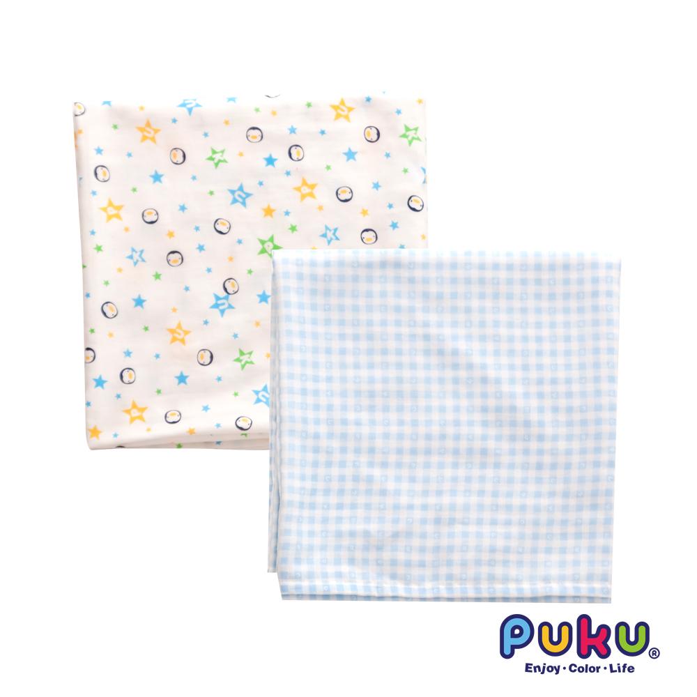 PUKU透氣紗布包巾被2入120*120cm
