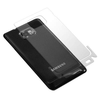Samsung GALAXY S2 i9100 超透超顯影機身背膜(貼)