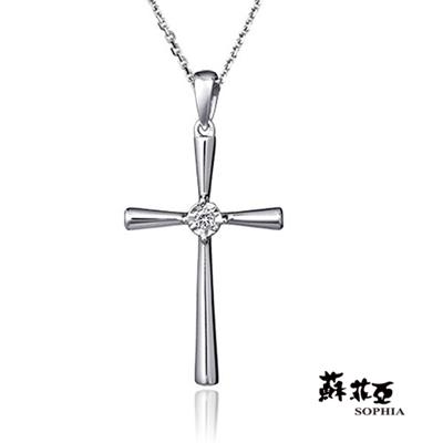 蘇菲亞SOPHIA 鑽石項鍊-真諦0.03克拉鑽鍊