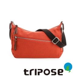 tripose 帆布拉鍊斜背包
