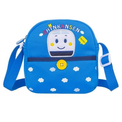 Hello Kitty 亮噗噗車系列-側背包-寶藍SS00C02RB