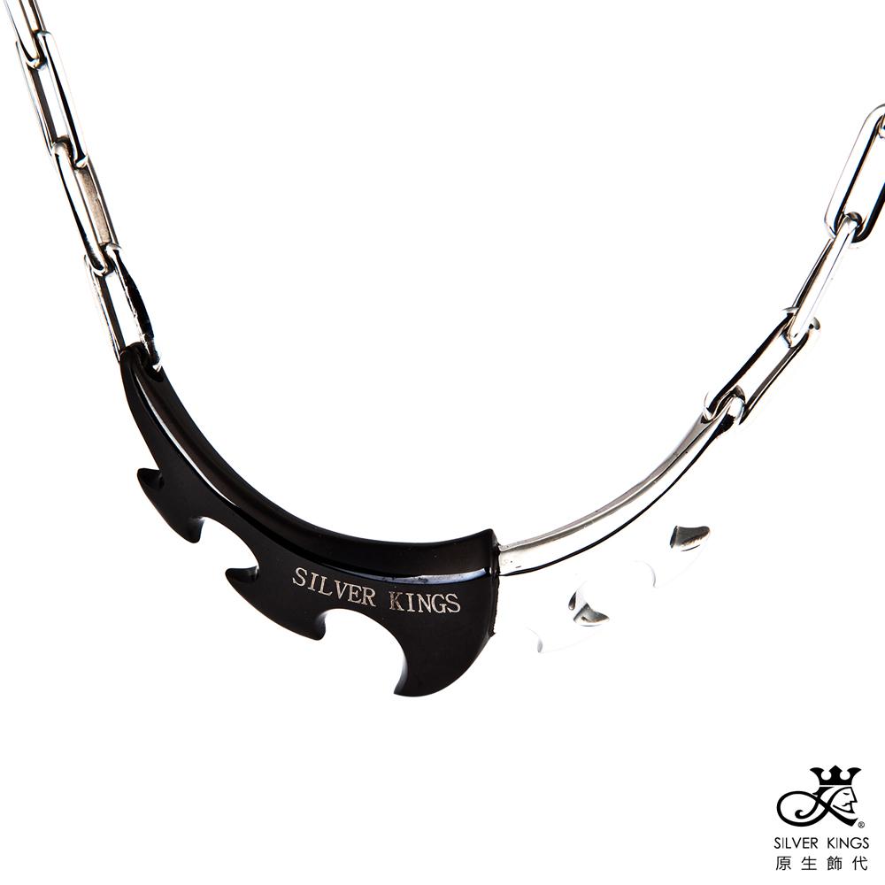 原生飾代SilverKings-自轉齒輪-316L白鋼項鍊