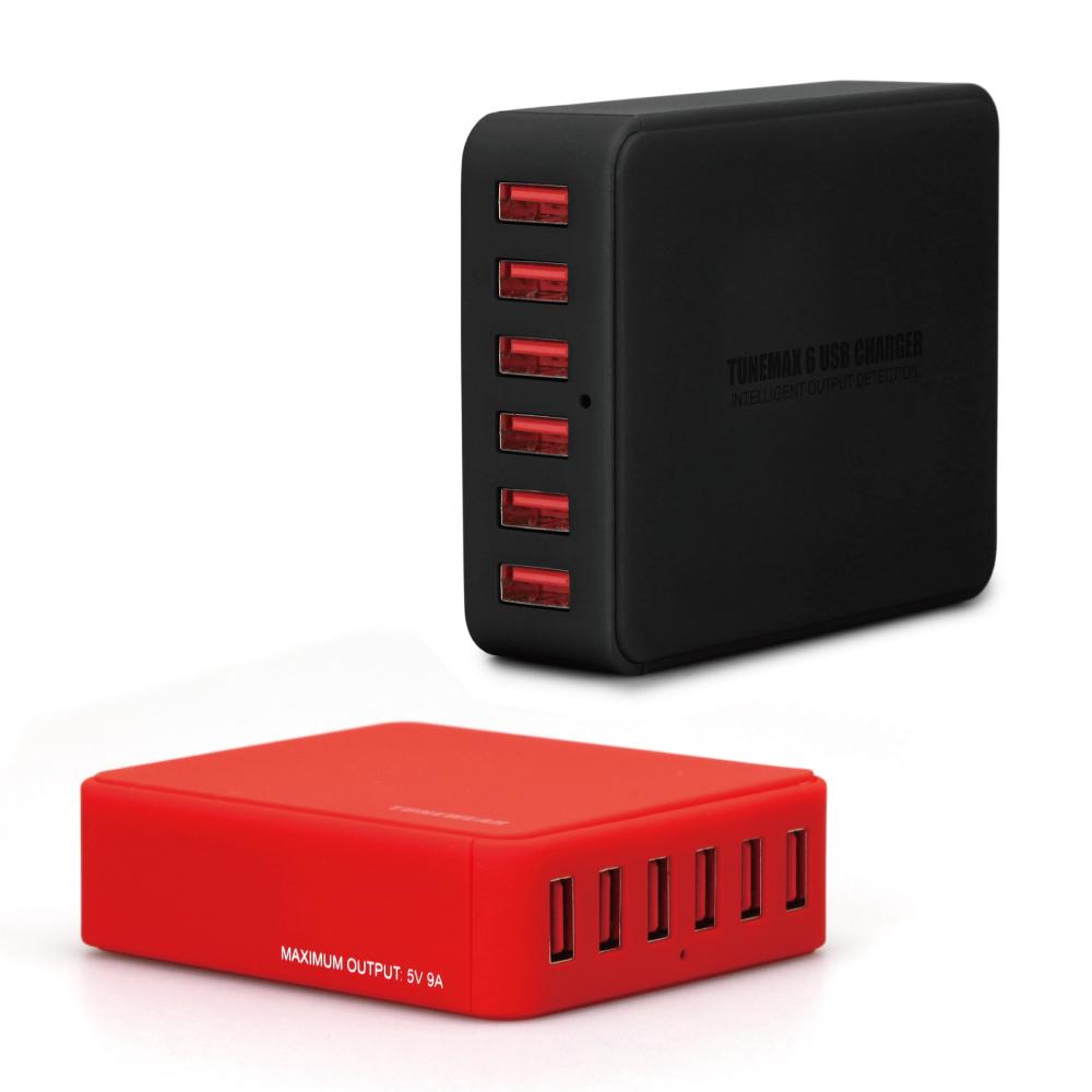 Tunewear 6孔USB 9A充電器 (iPad/iPhone/手機等裝置)
