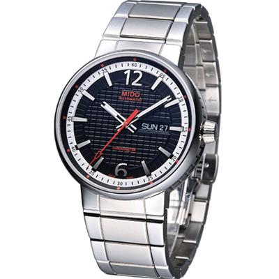 MIDO Great Wall 天文台認證機械錶-黑/42mm